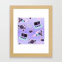 Cosmic fight I Framed Art Print