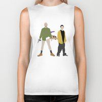 breaking bad Biker Tanks featuring Breaking Bad by Bill Pyle