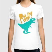 dino T-shirts featuring Dino by Chelsea Herrick