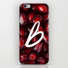 Recettes du Bonheur - pomegranate iPhone Skin