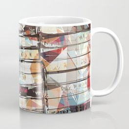 Musical Cassette Tapes Collage Coffee Mug