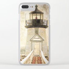 Brant Light Nantucket Clear iPhone Case