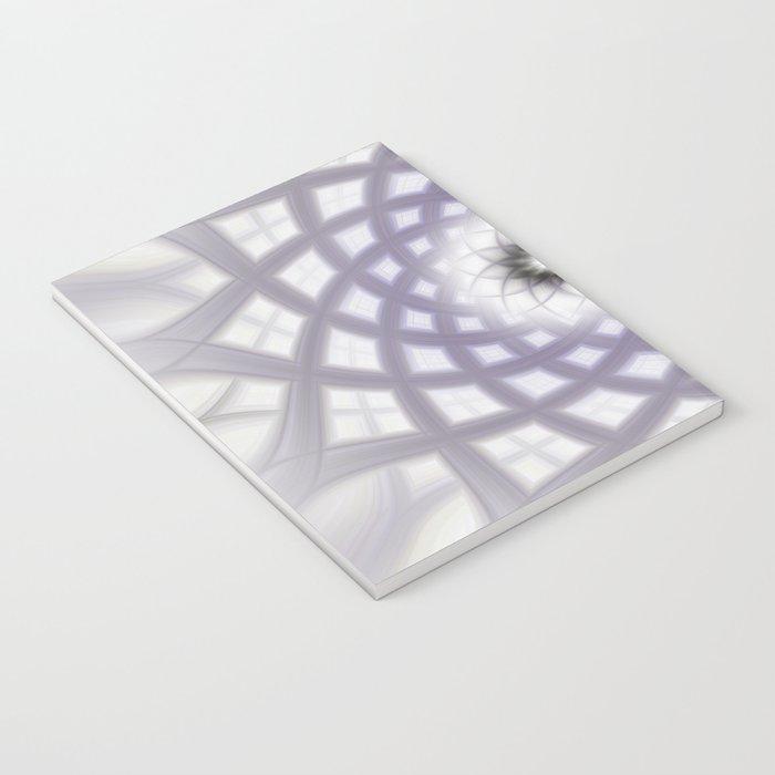 Lilac Twirl Notebook