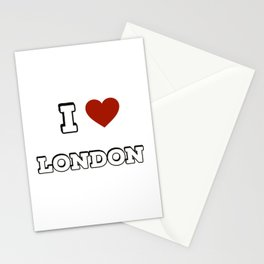 I love London Stationery Cards
