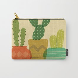 Cactus Trio Carry-All Pouch