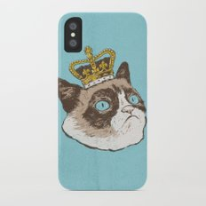 Grumpy King Slim Case iPhone X