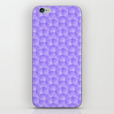 Purple Pattern iPhone & iPod Skin