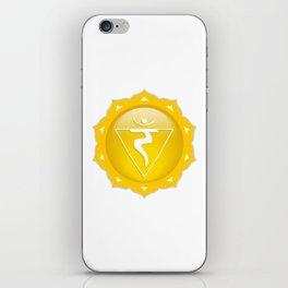 Solar Plexus Symbol iPhone Skin