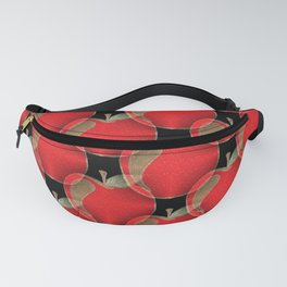 Red apple pattern Fanny Pack