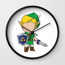 Origami Hero (Legend of Zelda inspired) Wall Clock