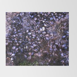 Sea Shells Throw Blanket