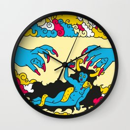 The birth of Lilith Wall Clock