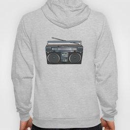 Boombox portable radio recorder Hoody