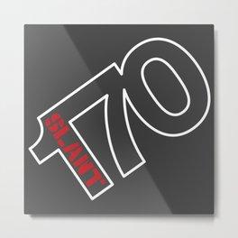 170 Slant 6 - Wedge Metal Print