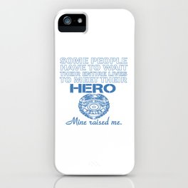 POLICE OFFICER'S DAUGHTER iPhone Case