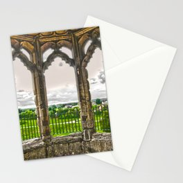 Looking through the window Stationery Cards
