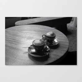 French coffee Canvas Print