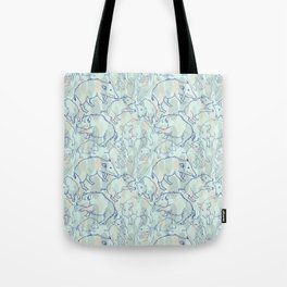 Wild Boars Tote Bag