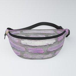 Venetian Bricks in Pink and Lavender Fanny Pack