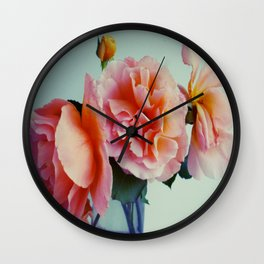 Bud with petals Wall Clock