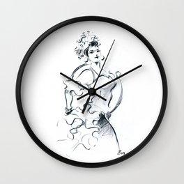 Houla Hop Girl Wall Clock