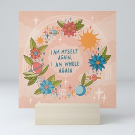 I am myself again Mini Art Print