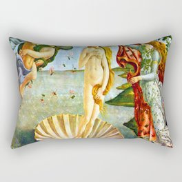 Botticelli The Birth of Venus Rectangular Pillow