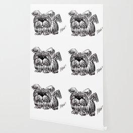 Woof :: A Dust Mop Dog Wallpaper