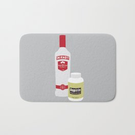 Vodka & Aspirin Bath Mat