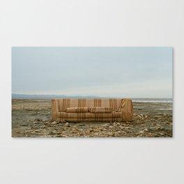 Salton Sea Couch Canvas Print