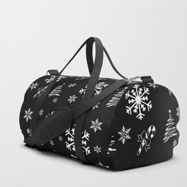 White Christmas Duffle Bag