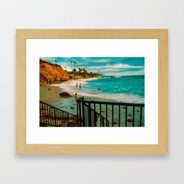 Laguna Cali. Framed Art Print