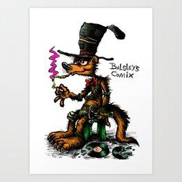 Taboose poster Art Print