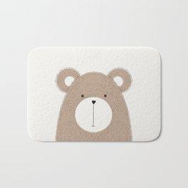 Cute Woodland Animals Baby Nursery Bear Bath Mat