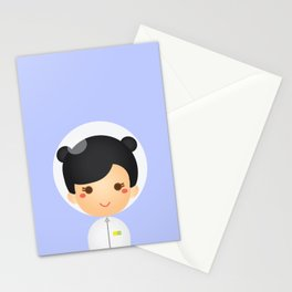 The Astro Girl Stationery Cards