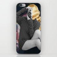 selfie iPhone & iPod Skins featuring Selfie by Cs025
