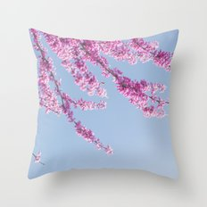 Blossoms - In Memory of Mackenzie Throw Pillow