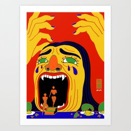 Fiasco Art Print
