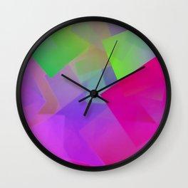 Lighted night Wall Clock