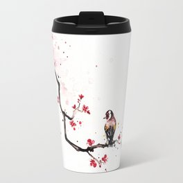 """The tiny wings """"The goldfinch"""" Travel Mug"""