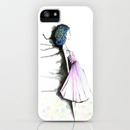 Ethereal Girl iPhone Case