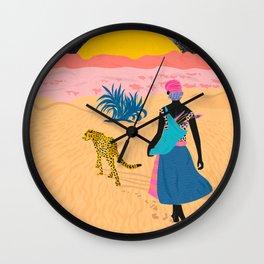 Desert_ Wall Clock