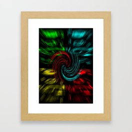 Abstract perfection 47 Framed Art Print