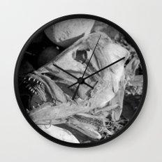 Fish head Wall Clock