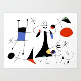 Joan Miro The Sun (El Sol) 1949 Painting Artwork For Prints Posters Tshirts Bags Women Men Kids Art Print