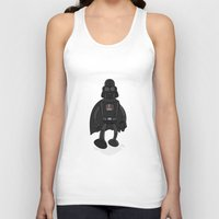 bender Tank Tops featuring Darth Bender by Andy Whittingham