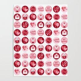 Love Polka Dots Poster