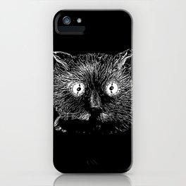 Schrödinger's cat iPhone Case