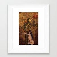 teacher Framed Art Prints featuring Teacher by ChillinRabbit