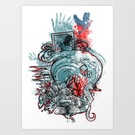 The Other Way Out Art Print